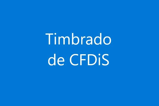 Timbrado de CFDI